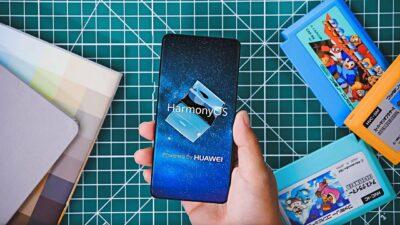 harmony OS on a phone