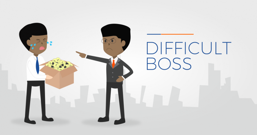 How to Deal With a Difficult Boss at Your Job
