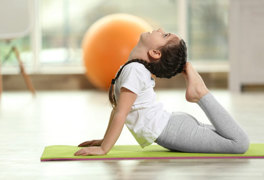 Yoga for Kids-Start and influence your kids at an early age