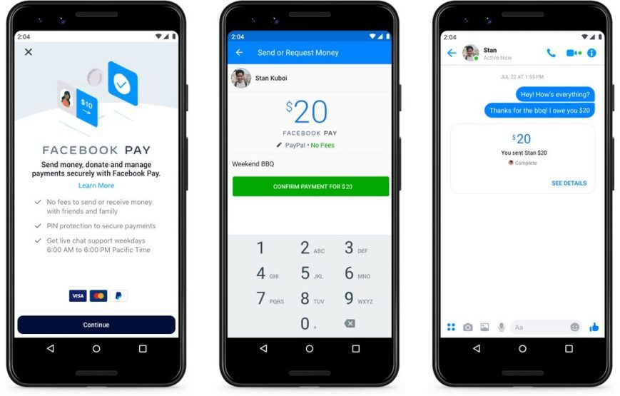 Facebook Pay launched across all Facebook Apps