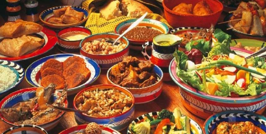 Enjoy a Wide Variety Of African Food