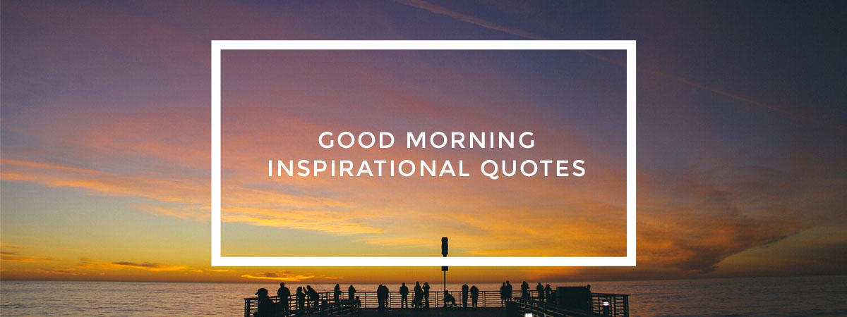 Good Morning Inspirational Quotes cover