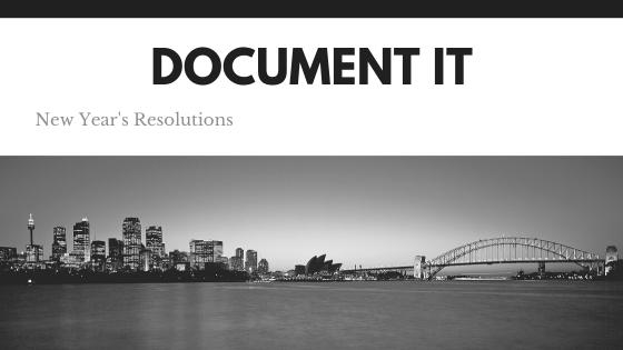 Document it