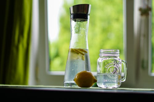 1. Drink ample amounts of lemon-water per day