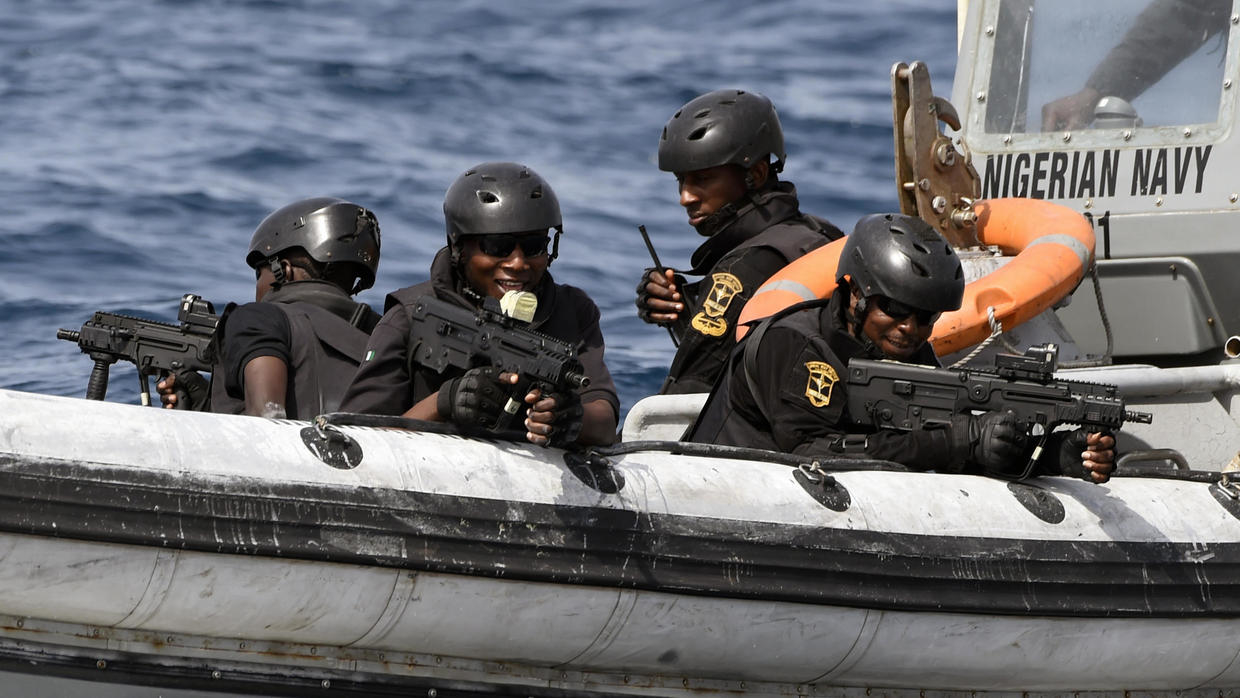 Sailors are being kidnapped off the Gulf of Guinea