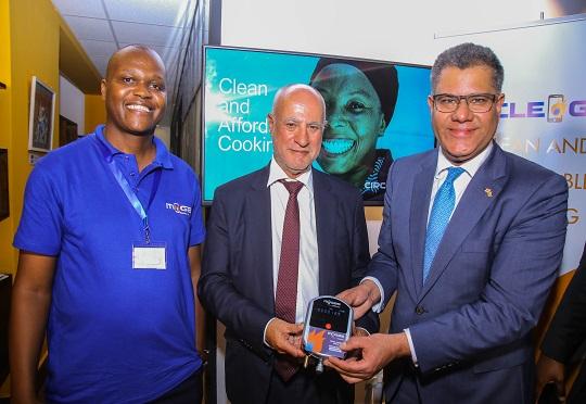 M-Gas and Safaricom partners