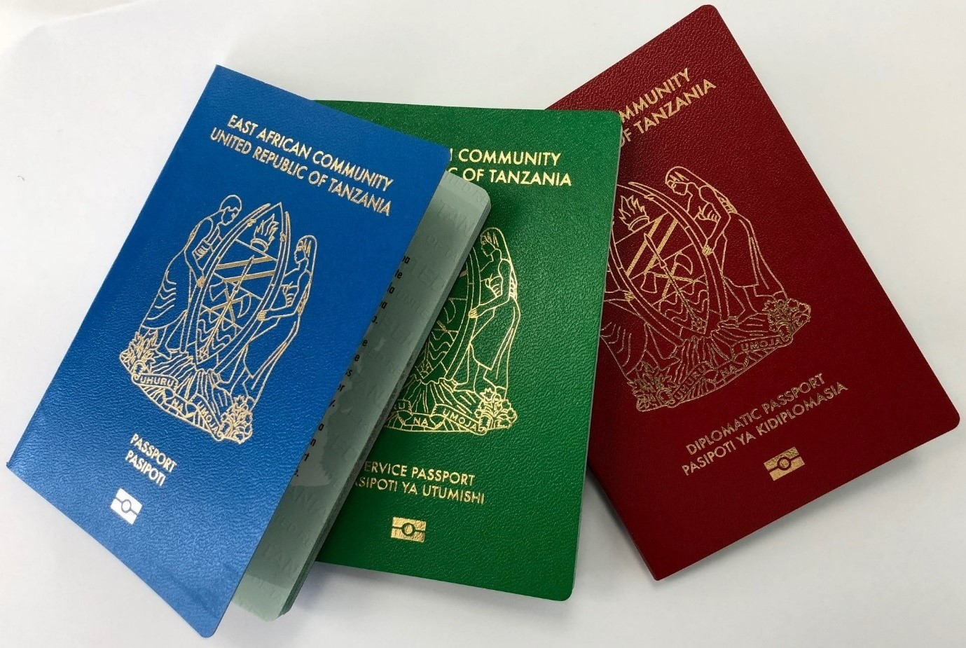 New Tanzanian e-passport