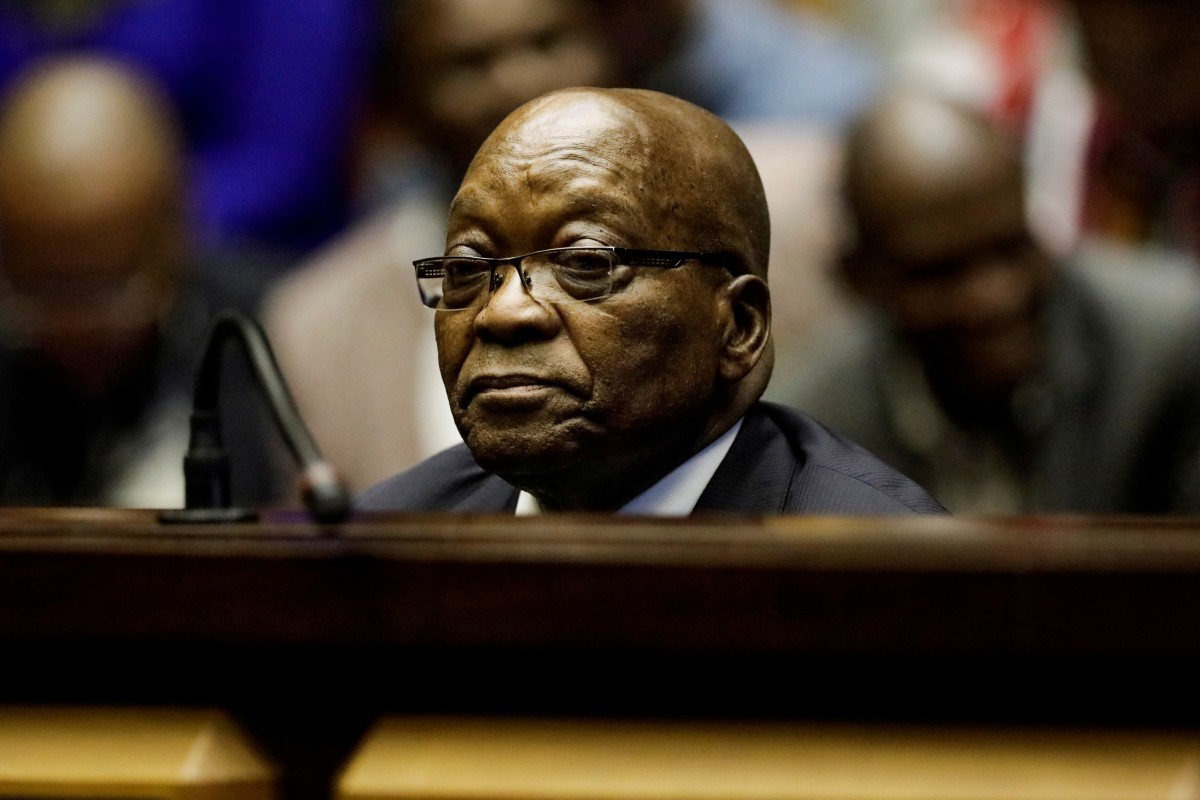 Arrest warrant issued for Jacob Zuma