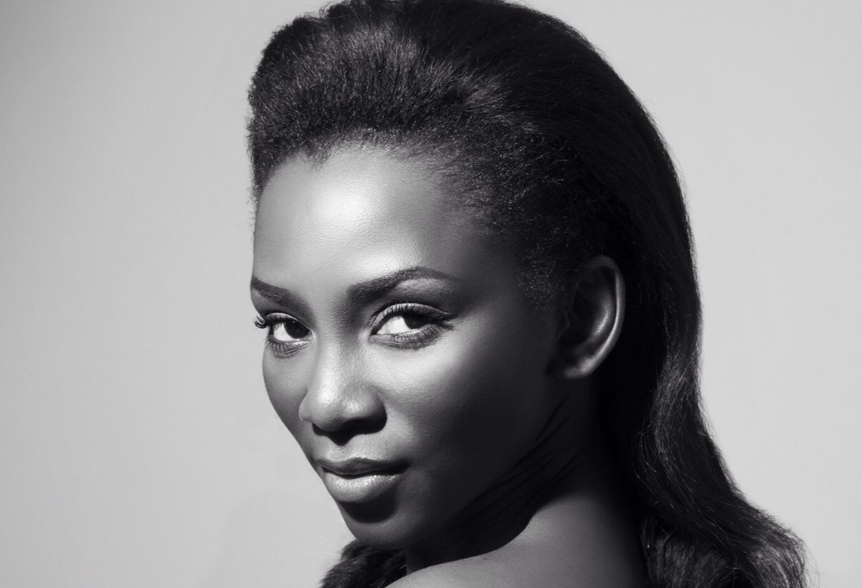 Genevieve nnaji posing for a cover