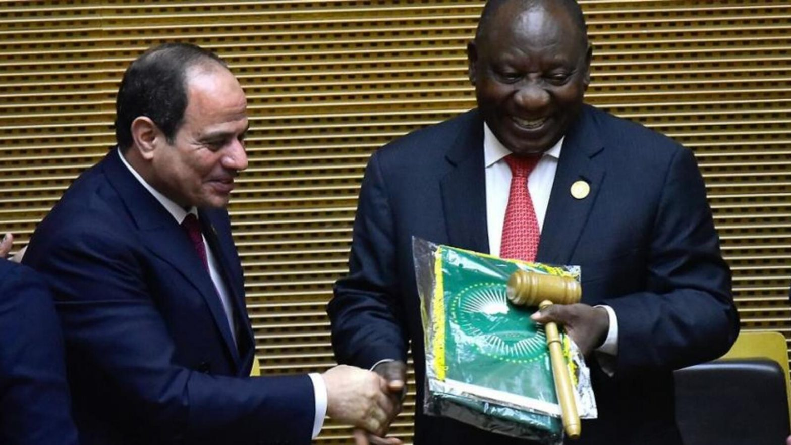 Cyril Ramaphosa takes over as African Union Chairperson