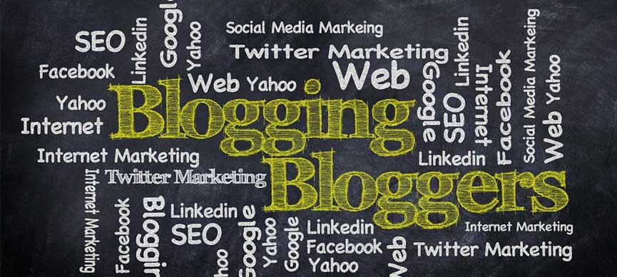 Lettering of blogs in nigeria on blackboards with colorful charcoal
