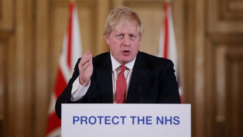 British Prime Minister Boris Johnson has tested positive for the new coronavirus