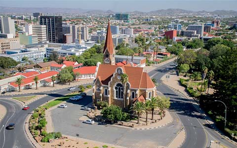 Most-beautiful-cities-in-Africa-Windhoek-Church