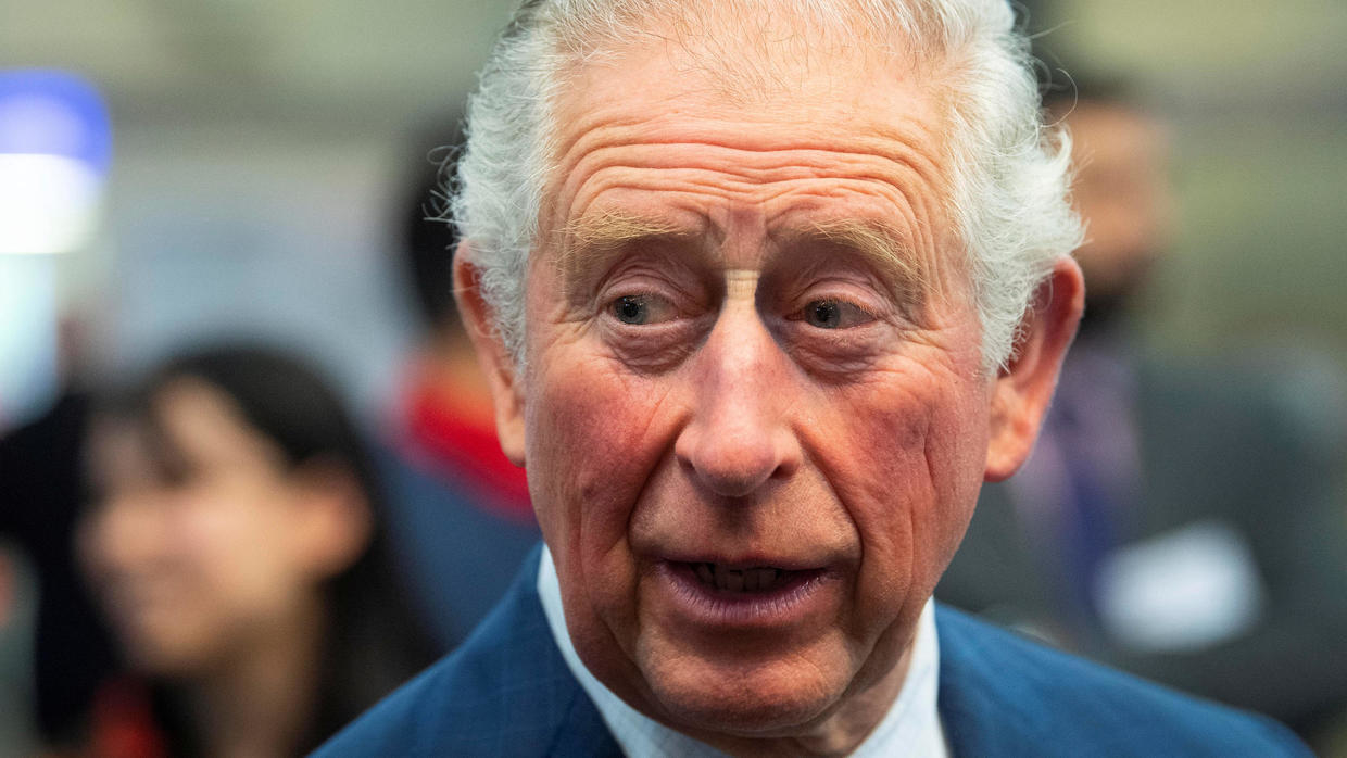 Prince Charles test positive for covid-19