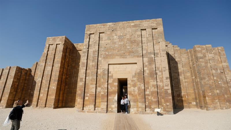 Egypt reopens the Pyramid of Djoser