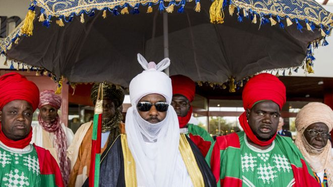 Sanusi Lamido Sanusi dethroned as the Emir of Kano