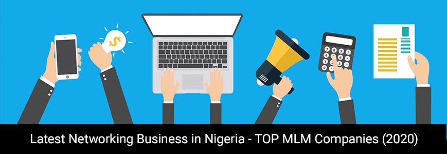 Human icon working on the latest networking business in Nigeria