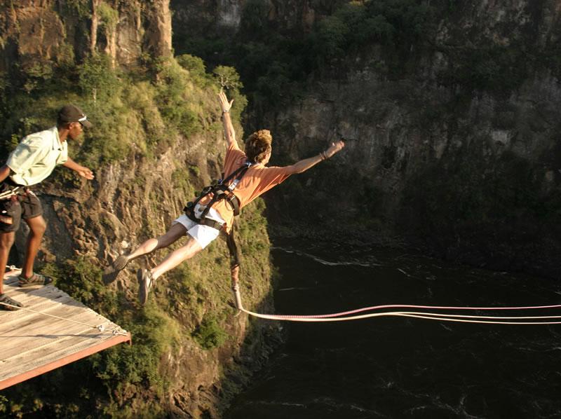 Batoka Gorge Swing
