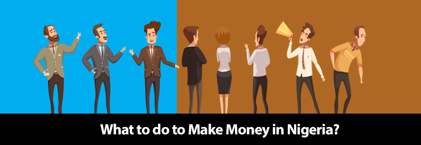 What to do to Make Money in Nigeria Cover