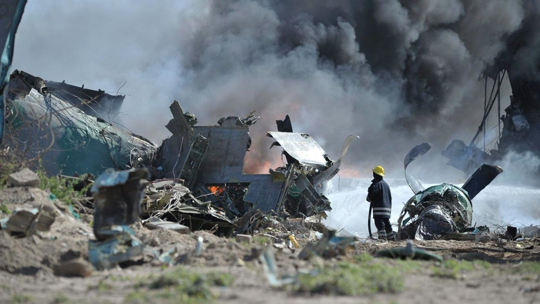 Plane carrying coronavirus aid supplies crash in Somalia