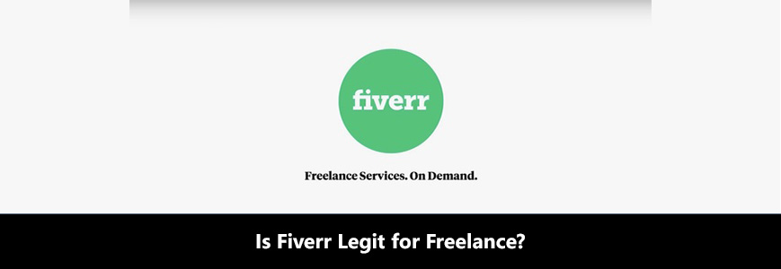 Fiverr green circle logo shows their legit freelance services