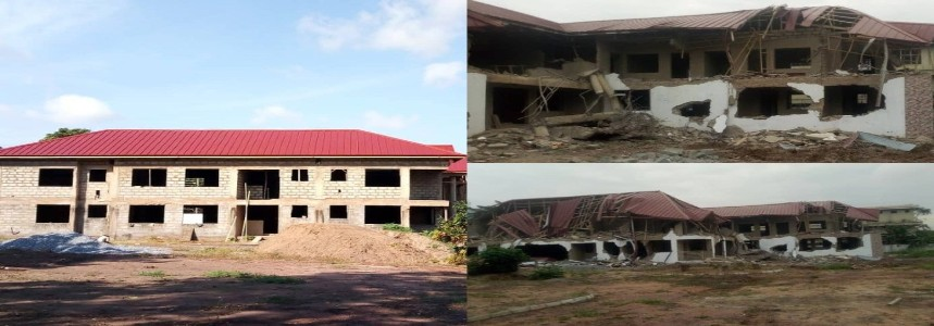 Ghana apologises for the demolition of the Nigerian embassy