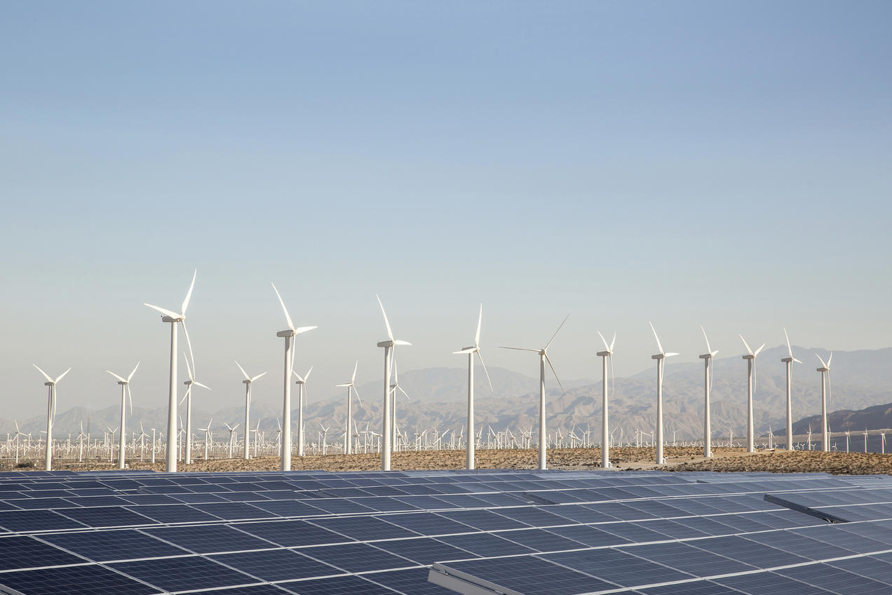 Renewable power headed for its first decline in two decades