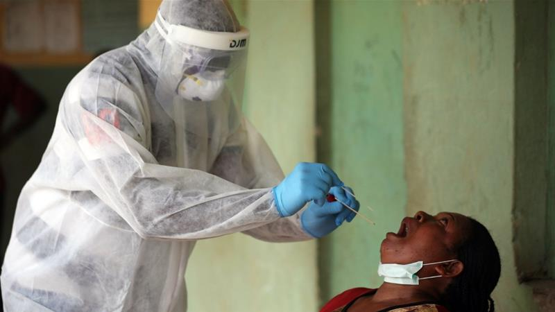 In Nigeria, more than 800 health workers have been infected by the virus.