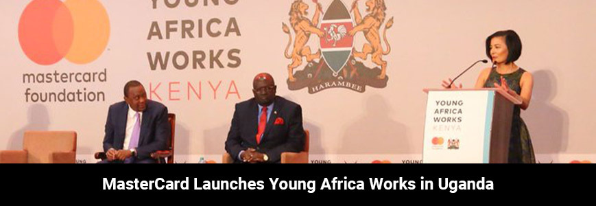 The Mastercard Foundation Young Africa Works Banner
