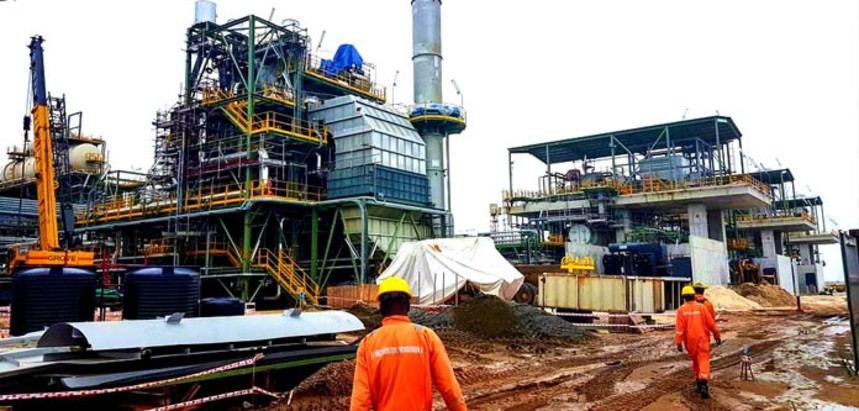 Dangote Refinery under Construction in LFTZ
