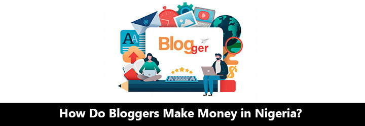 Set of Icon logo for bloggers to make money in Nigeria