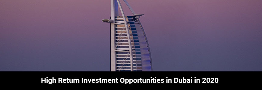 One of the most famous buildings in Dubai is Burj Al Arab shows us investment opportunities