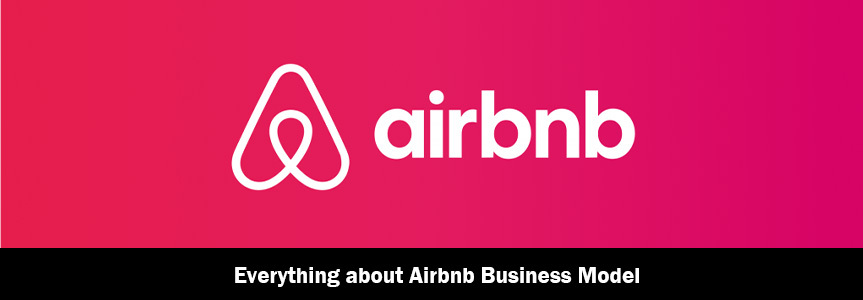 Airbnb logo for airbnb business model
