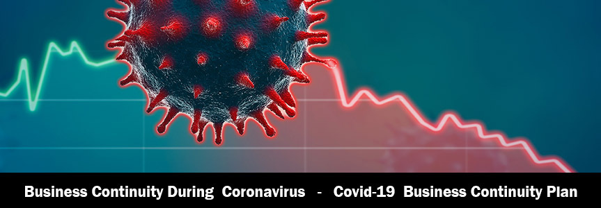 coronavirus worksheet showing the impact that it have on businesses