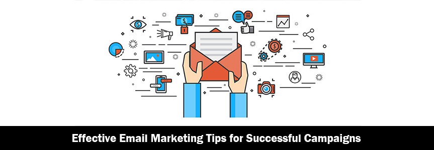 Icons of mails for Effective Email Marketing