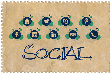 social media platforms' icons for your business