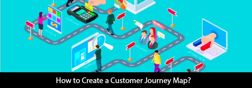 the customer road of customer journey map