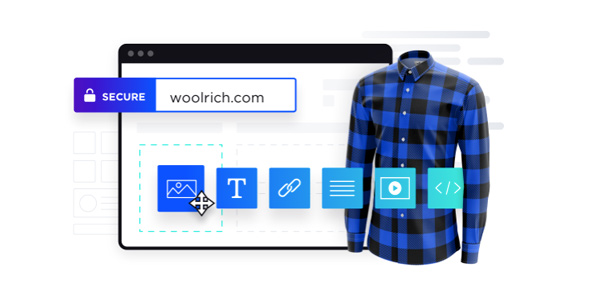 BigCommerce website's screen shot where you can choose how to add an image of your product