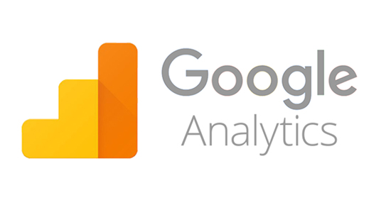 google analytics logo in orange and yellow colors. Google analytics is the best free tool for your ecommerce store