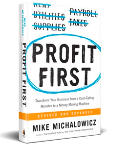 """a book """"profit first"""" as a best finance book for entrepreneurs"""