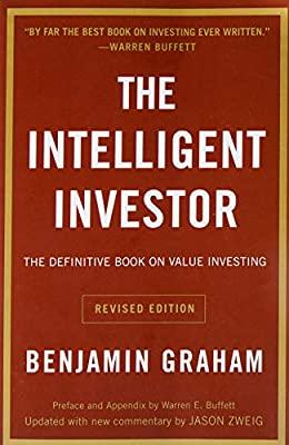 """the intelligent investor"" book by Benjamin Graham"