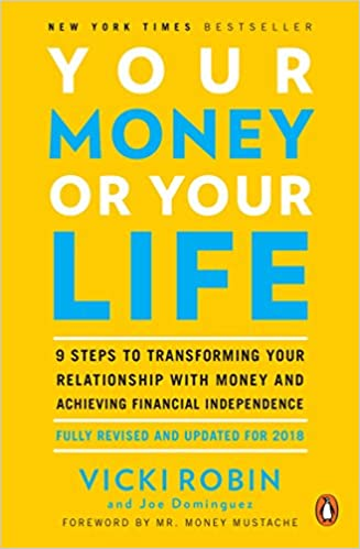 """""""Your money or your life"""" yellow book"""