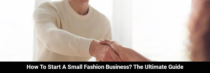 man and woman shaking hands agreeing on starting a small fashion business