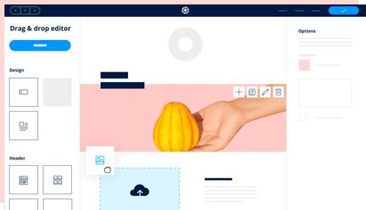 sendinblue's editing page. Sendinblue is a great affiliate marketing tool